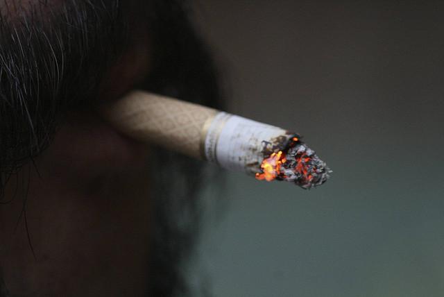 sotva 18 kouření